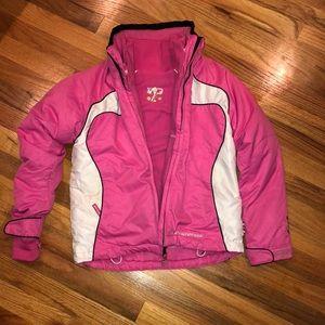 Girls Weatherproof Ski Coat